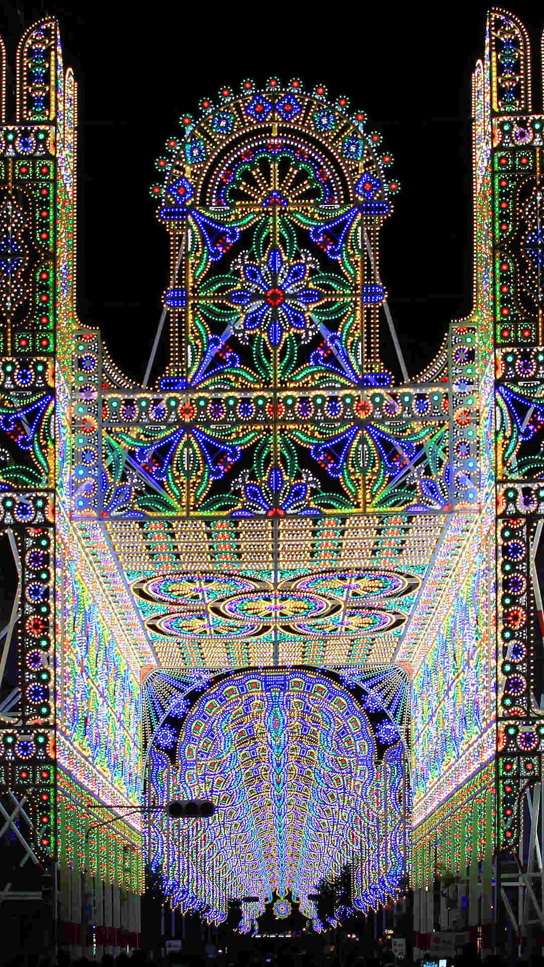 スマホ壁紙 神戸ルミナリエ16 スマホ用高画質壁紙写真 無料壁紙 フルhd 19 1080px