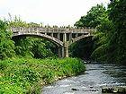 御坂サイフォン橋(眼鏡橋 ...