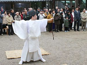 御弓神事(御弓祭)・御坂神社[...