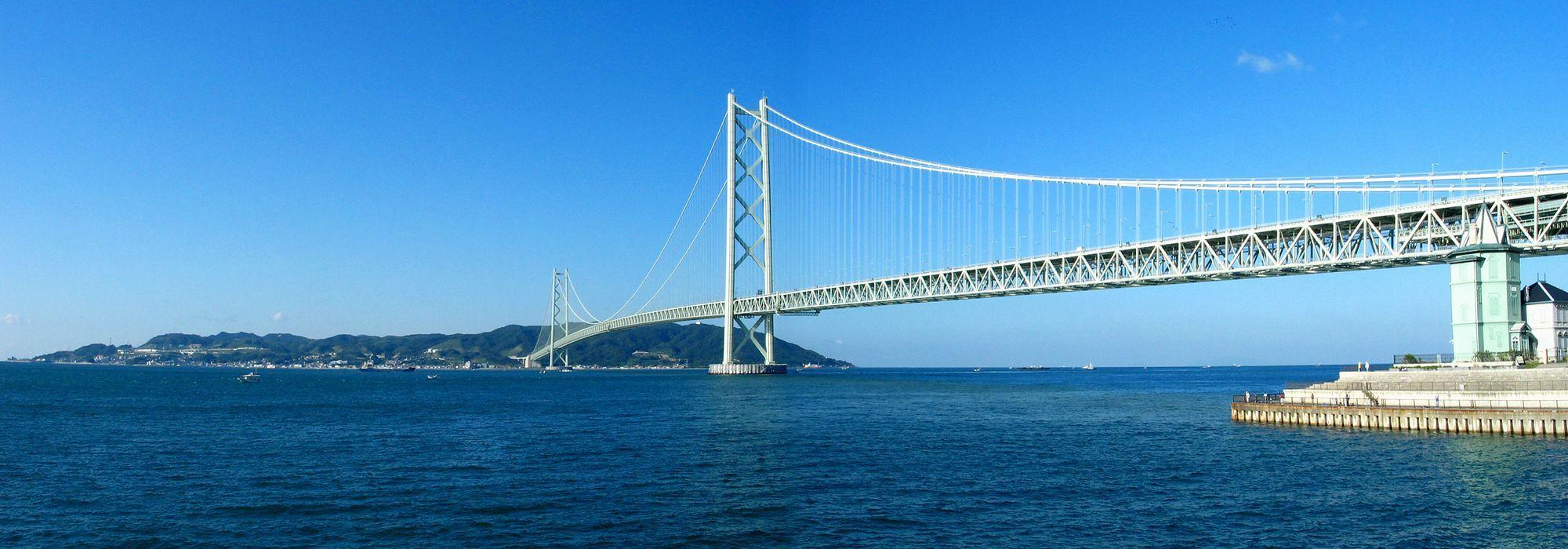 海峡 大橋 明石 明石海峡大橋・瀬戸大橋