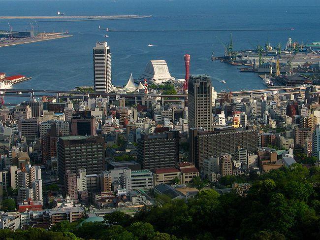 兵庫県庁と神戸の街並み・神戸港とメリケンパークの... 兵庫県公館・旧兵庫県庁舎/兵庫と神戸の迎