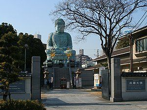 能福寺と兵庫大仏/神戸市