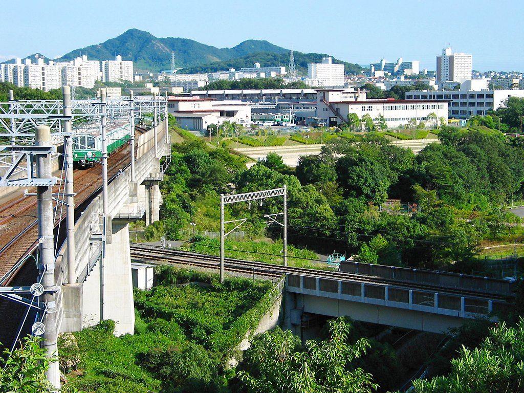 神戸市営地下鉄と山陽新幹線 神戸市営地下鉄と山陽新幹線 神戸市営地下鉄  神戸総合運動公園[壁紙