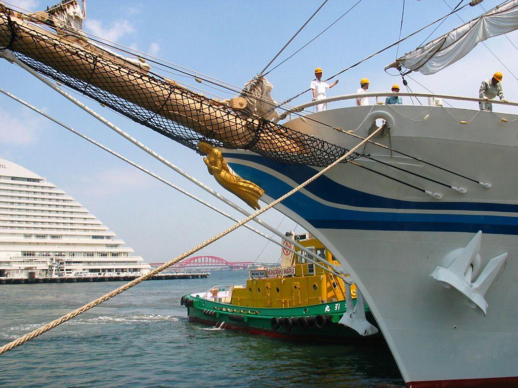 帆船日本丸・神戸港ハーバーラン...