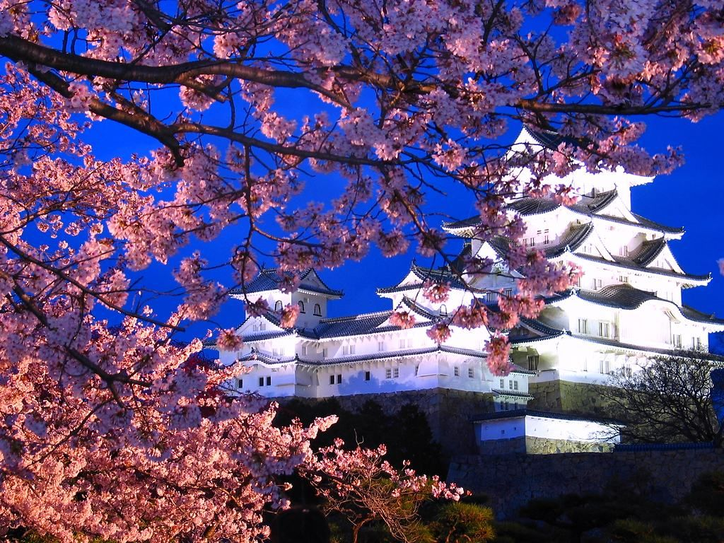 世界遺産にも登録されている姫路城