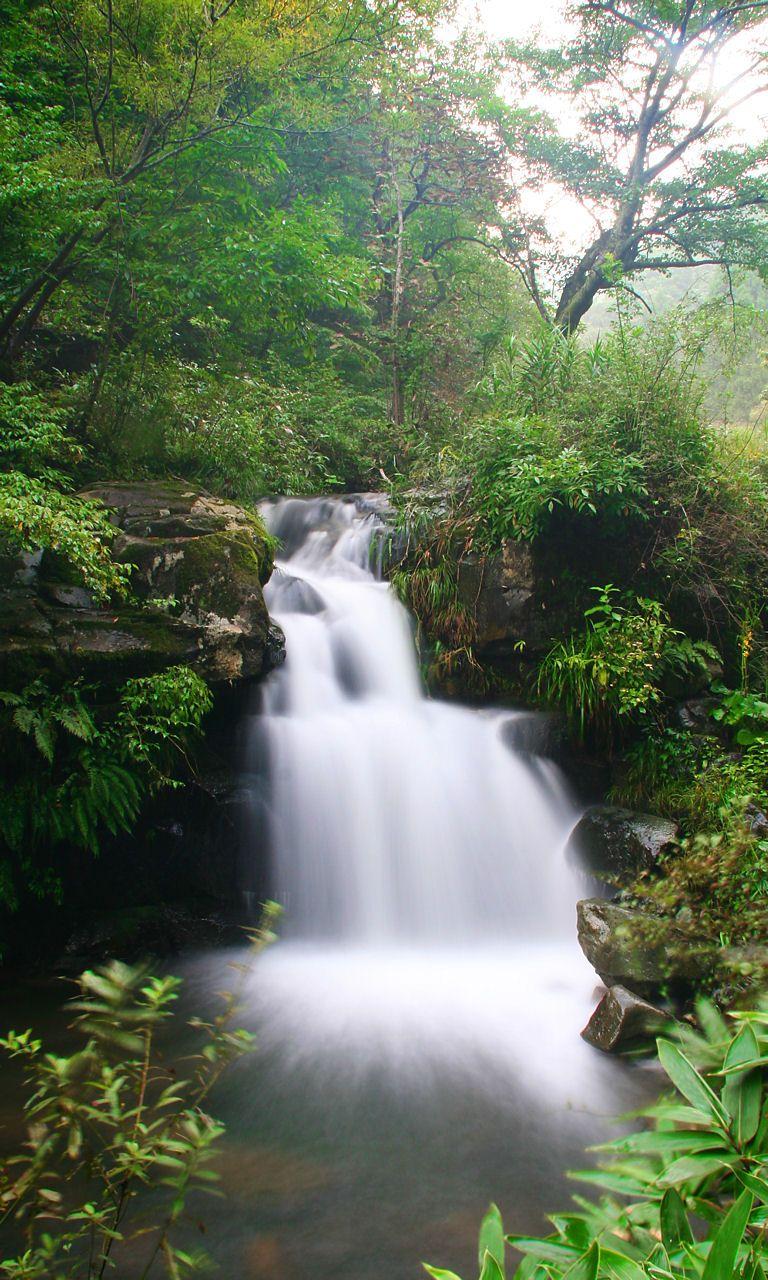 阿瀬渓谷の滝 阿瀬渓谷の滝 阿瀬渓谷の滝 阿瀬渓谷の滝  深緑の阿瀬渓谷と満願の滝[壁紙写真集